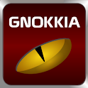 GOsms SimplyRed theme Gnokkia logo