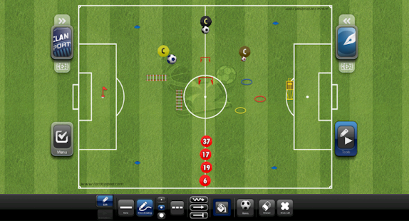 TacticalPad: Coach's Whiteboard, Sessions & Drills- screenshot thumbnail