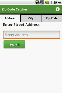 Zip Code Catcher - screenshot thumbnail