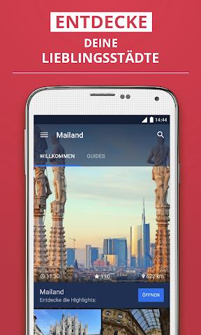 Screenshot 1 Mailand Reiseführer