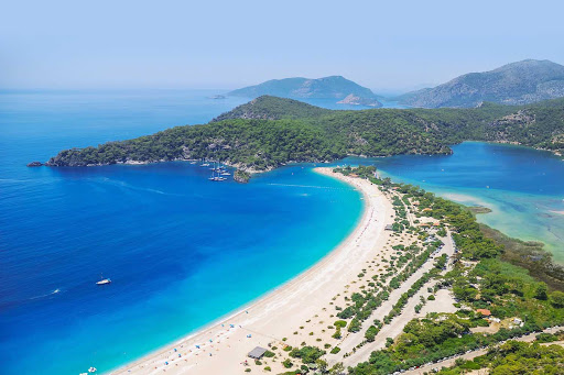 Ölüdeniz is a beachfront village in Muğla Province on the Turquoise Coast of southwestern Turkey.