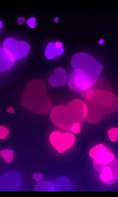 Wisp Glitter Live Wallpaper- screenshot