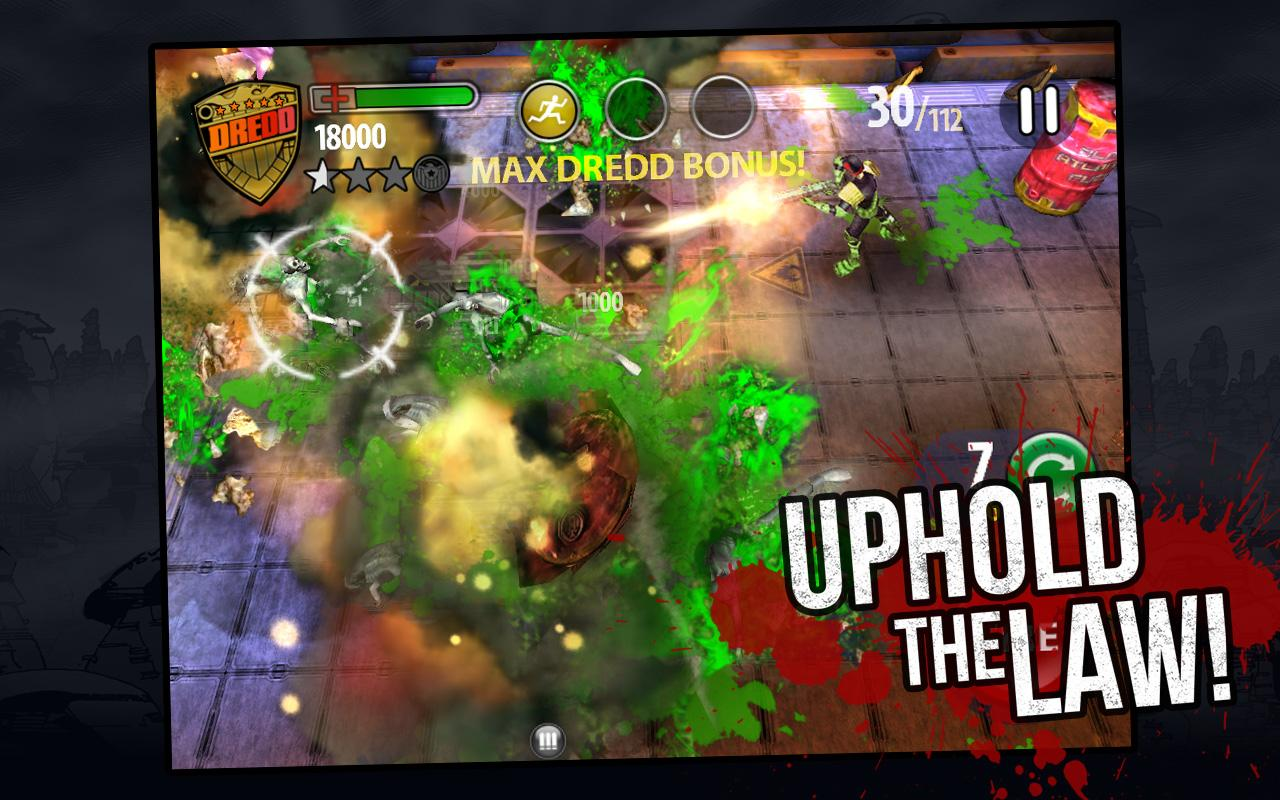 Judge Dredd vs. Zombies- screenshot