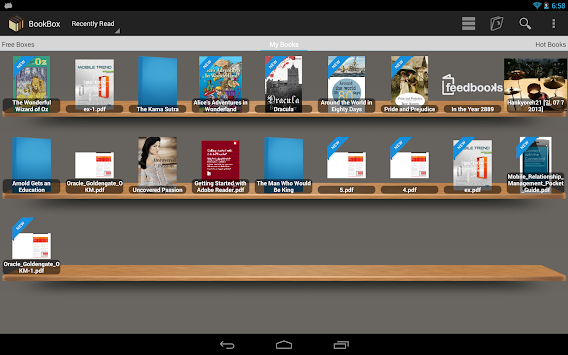 can you read pdf on kindle app android