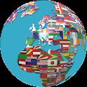 todo el mundo 250 banderas icon