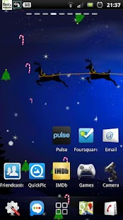 Santa Winter Christmas Eve LWP- screenshot thumbnail