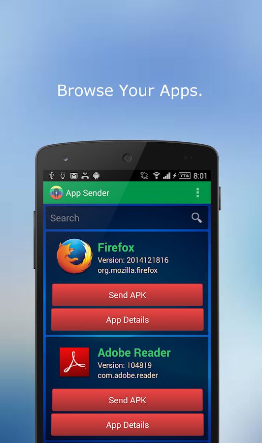 sender app