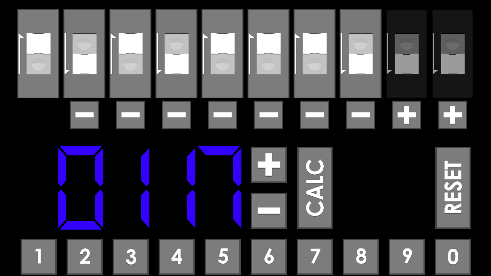 Dip Switch / Resistor Calc. - screenshot