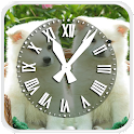 Cute Puppies Clock LWP icon