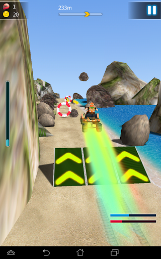 3D Moto Beach Racing