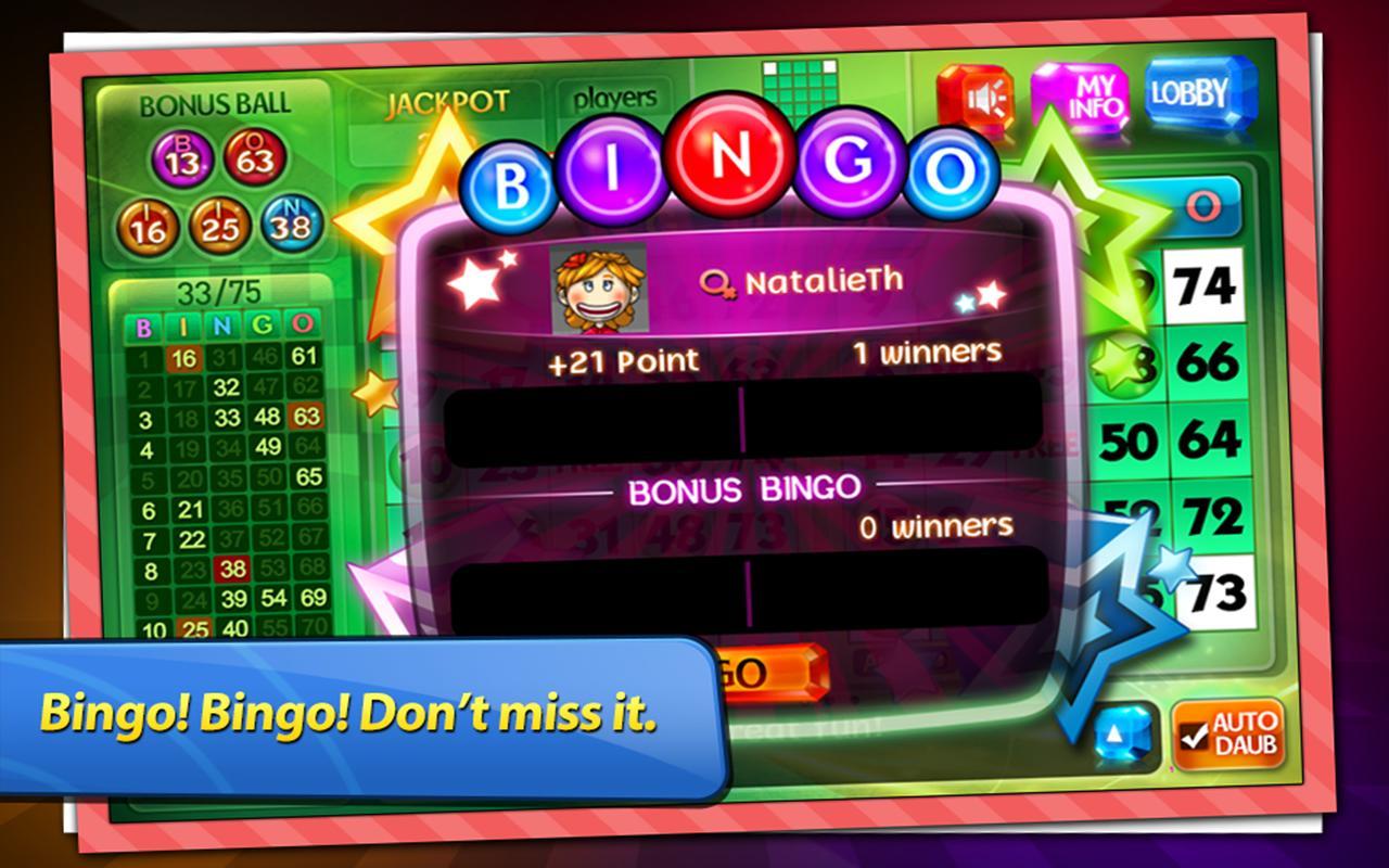 vegas free bingo games online
