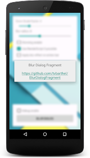 BlurDialogFragment Sample App- screenshot thumbnail