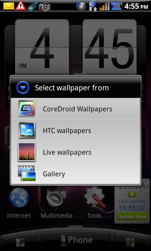 CoreDroid  Wallpapers - screenshot