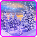 Winter and Christmas Wallpaper icon