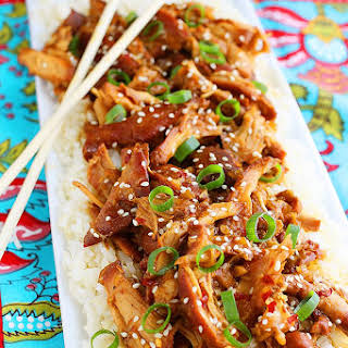 Crock Pot Honey Sesame Chicken.