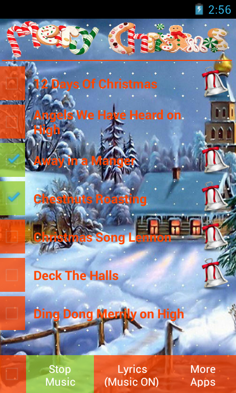 Christmas Carols - screenshot