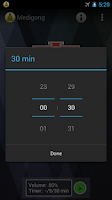 Screenshot of Medigong - meditation timer
