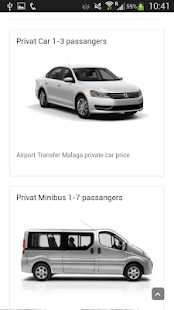 LowCost Malaga AirportTransfer- screenshot thumbnail