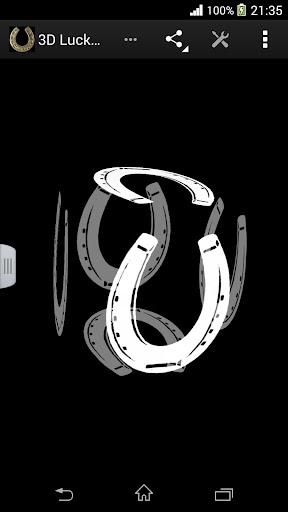 玩生活App|3D幸運馬蹄壁紙免費|APP試玩