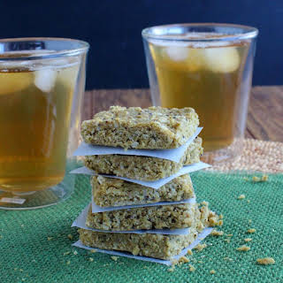 No Bake Almond Butter Protein Bars.