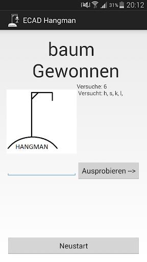 ECAD Hangman Deutsch