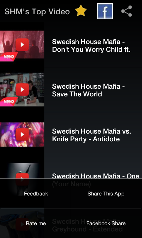 Swedish House Mafia Videos - screenshot
