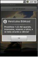 Screenshot of Versiculos da Biblia
