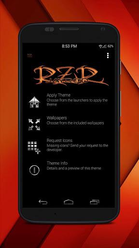 RZR Orange - Icon Pack