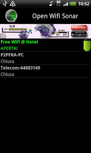 Open Wifi Sonar