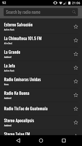 グアテマラをラジオします。