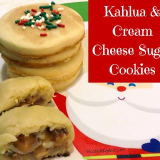 Kahlua and Cream Cheese Sugar Cookie