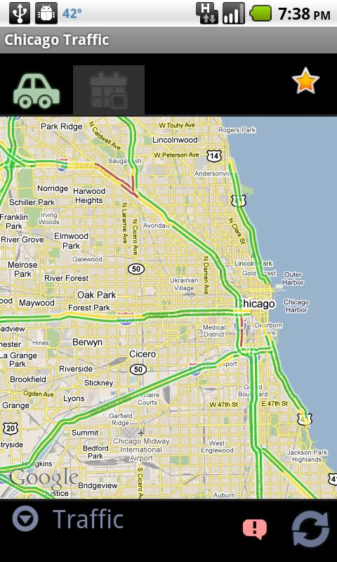 Chicago Traffic - screenshot