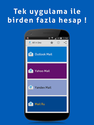 Outlook Yandex Yahoo Mail Ru