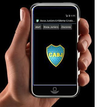 Boca Juniors Emblema Giratorio