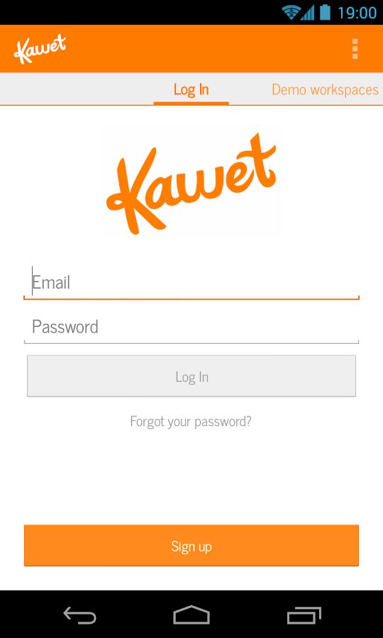 Kawet - screenshot