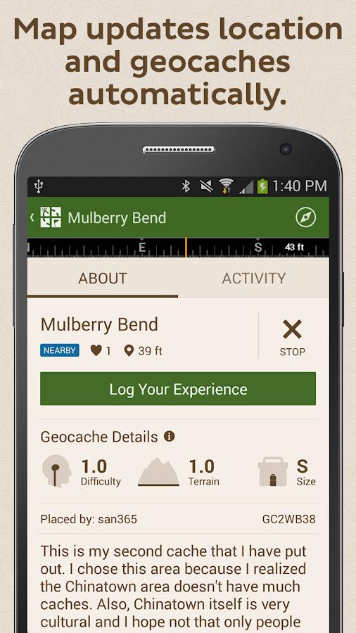Geocaching Intro - screenshot