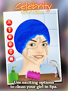 Celebrity Spa Salon & Makeover- screenshot thumbnail