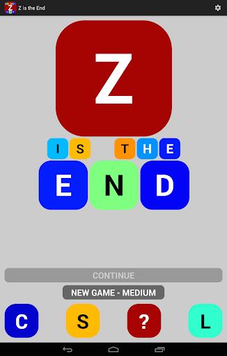 【免費拼字App】Z is the End-APP點子