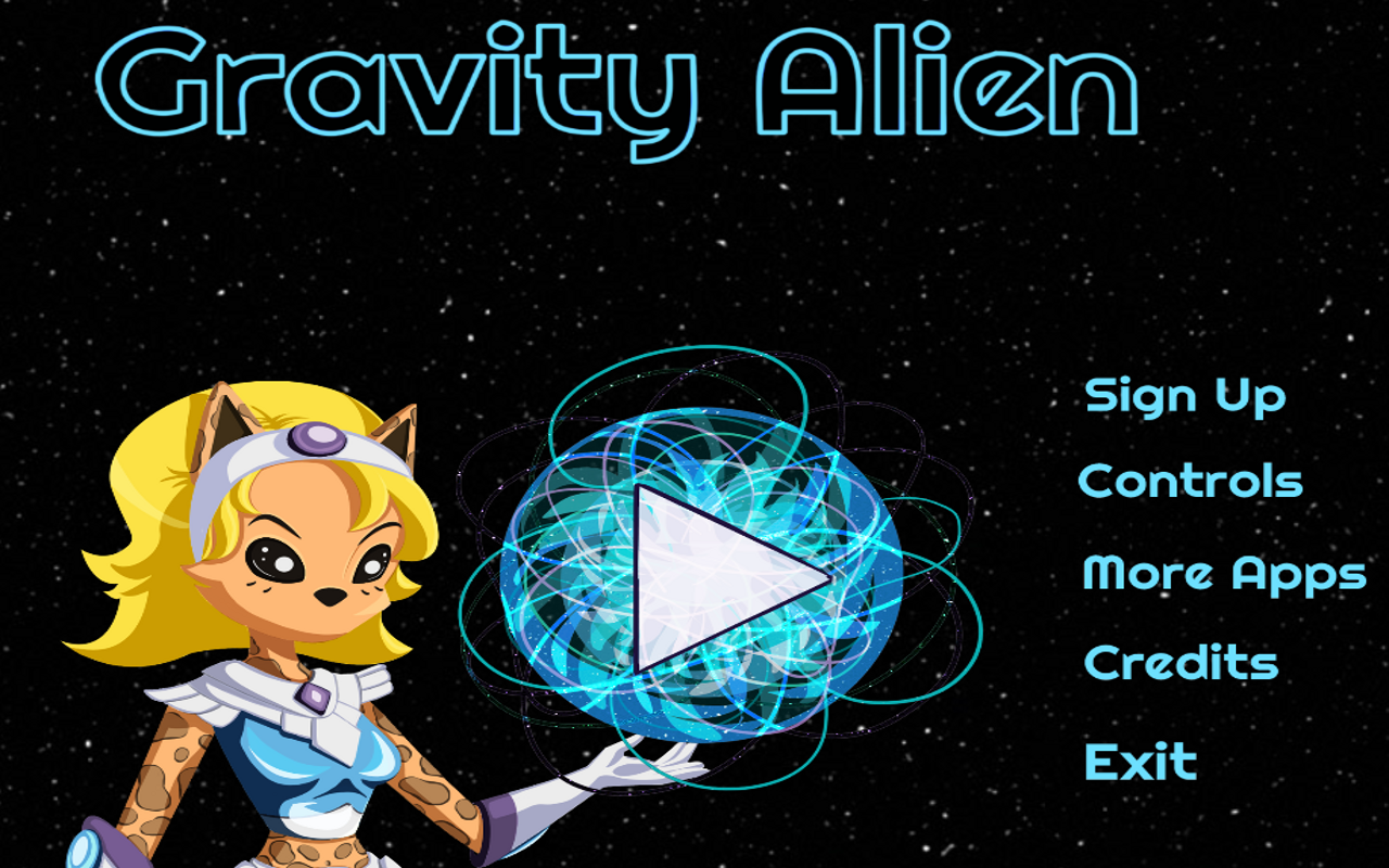 Gravity Alien Lite - screenshot