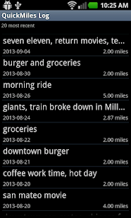 Go Bike Trip - Bicycle Log- screenshot thumbnail
