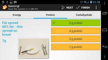 Screenshot of Food Test Feast