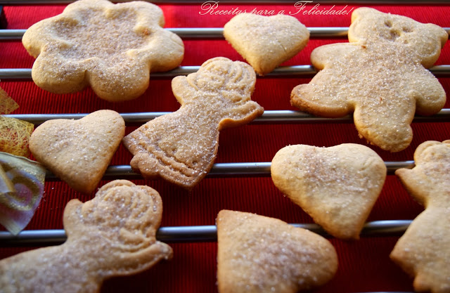 Butter and Cinnamon Christmas Cookies Recipe