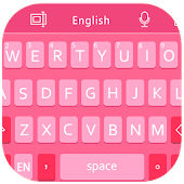 GO Keyboard iPhone iOS 7 Pink