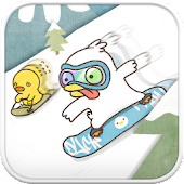Duck ski go launcher theme