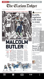 Clarion Ledger Print Edition- screenshot thumbnail
