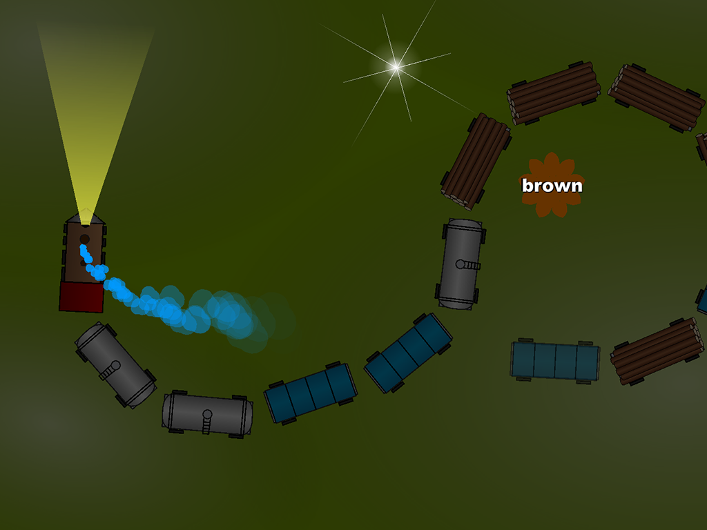 Choochoo Train for Kids- screenshot