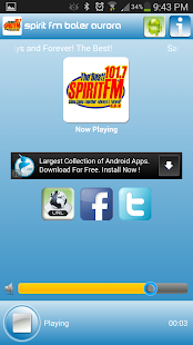Spirit FM Baler Aurora - screenshot thumbnail