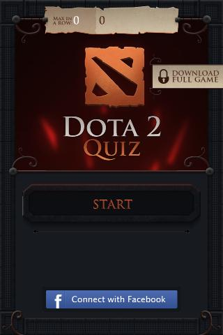 Dota Quiz - screenshot