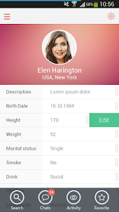 Flirt: Online Dating & Chats - screenshot thumbnail