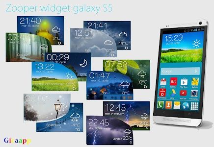 Zooper Widget Galaxy S5 v3.1.6